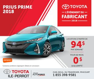 Prius Prime : L'événement du fabricant
