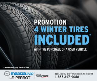 4 FREE Winter Tires!