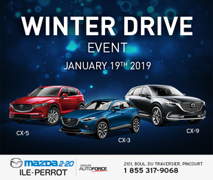 Winter drive event