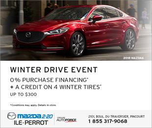 2018 MAZDA6 - WINTER DRIVE EVENT