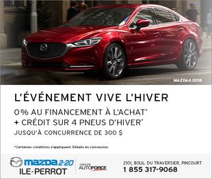 MAZDA6 2018 - L'ÉVÉNEMENT VIVE L'HIVER