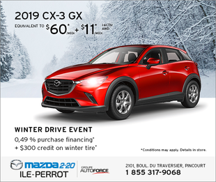 2019 CX-3 - WINTER DRIVE EVENT