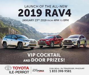 2019 RAV4 Launch