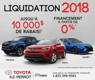 LIQUIDATION 2018