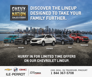 Chevy Nations - Sales Event
