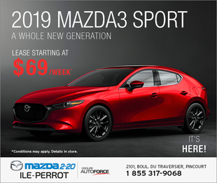 2019 Mazda SPORT