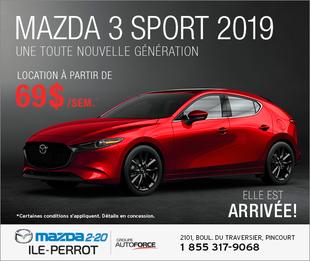 Mazda3  SPORT 2019