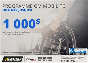 Programme GM de mobilité