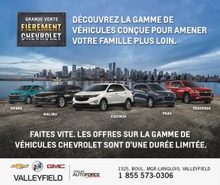 Grande Vente - Fièrement Chevrolet