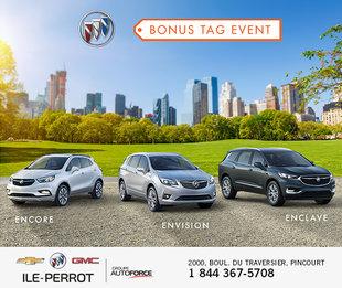 Bonus Tag Event - Buick