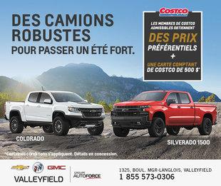 Costco - Prix préférentiel Chevrolet