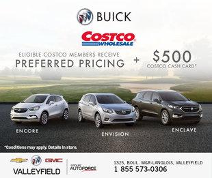 Costco - Preferred pricing Buick
