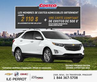 Costco - Prix préférentiel Chevrolet Equinox
