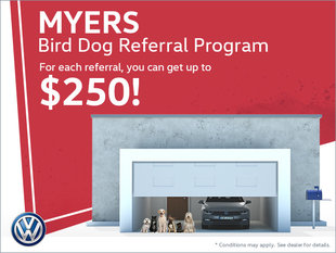 Myers Bird Dog Referral Program