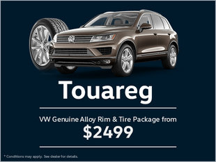 Get a Genuine Alloy Rim and Tire Package for Your Touareg!