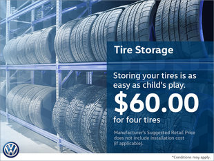 Store Your Tires for $60!