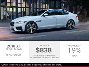 The 2018 XF Premium AWD