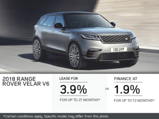 The 2018 Range Rover Velar V6