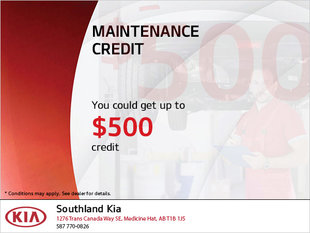 $500 Maintenance Credit