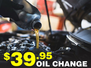 $39.95 Oil Change
