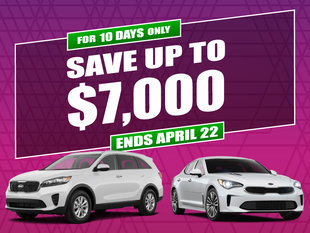 Kia 10 Day Sale