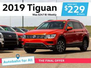 Autobahn for All Final Offer - Tiguan