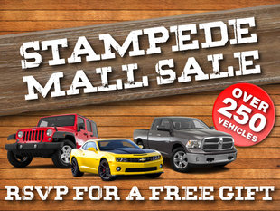 Stampede Mall Sale RSVP