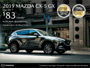 New Mazda CX-5 Deals in Montreal