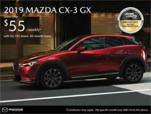 New Mazda CX-3 Deals in Montreal
