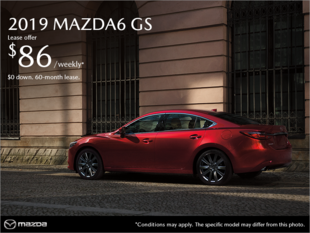 Get the 2019 Mazda6 in Montreal
