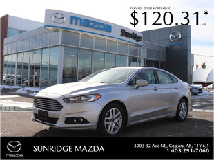 Get the 2016 Ford Fusion SE today!