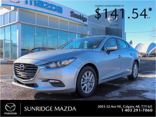 Get the 2018 Mazda 3 GS today!