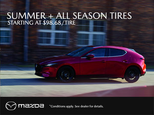 Summer and All Season Tires Now Available!