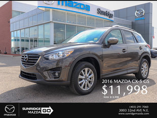Get a 2016 Mazda CX-5 GS Today!