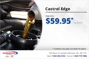 Get Castrol Edge Engine Oil for $59.95!
