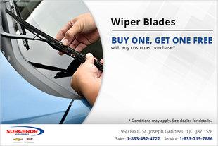 Get Wiper Blades Today!