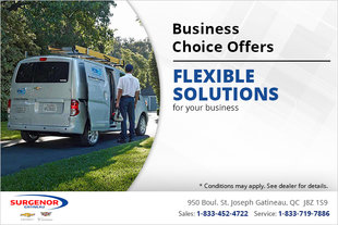 Business Choice Offers