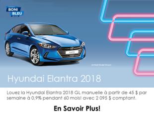 Louez l'Elantra 2018!