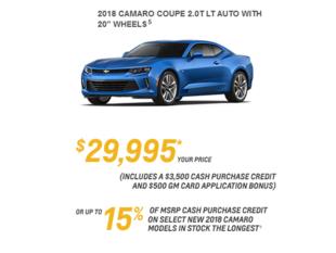 2018 Camaro