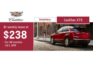 BI-WEEKLY LEASE AT $248 FOR 48 MONTHS, 1.9%APR