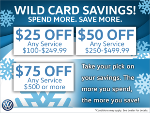 'Wild Card Savings' are Here!