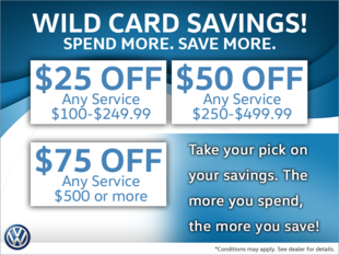 'Wild Card Savings' are Here!