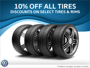 10% Off All Tires & Select Tire & Rim Packages