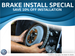 10% Off Brake Installation