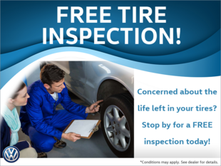 Free Tire Inspection!