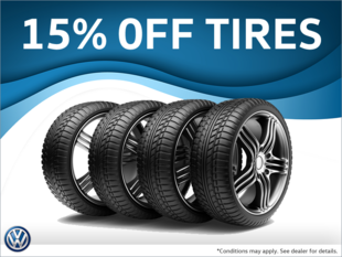 15% Off Seasonal Tires