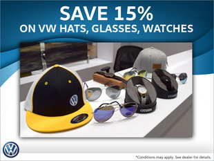 Save 15% Off VW Swag