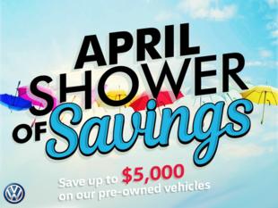 April Showers of Savings
