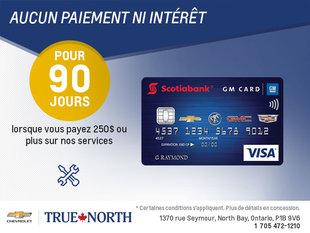 La carte Scotiabank GM