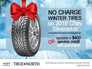 2018 Chevrolet Silverado Gift with Purchase!